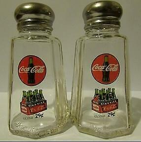 A Nice Set of Coca Cola 6 Pack Salt & Pepper Shakers