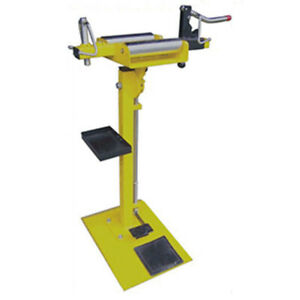 Yellow Vertical Manual Tire Expander Tyre Spreader Tire Expanding Machine Sd 02