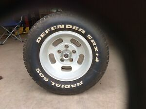 Vintage Slot 14 X 7 Mag Wheels 5 On 4 1 2 With Ford Mopar Amc With 1 2 20 Studs