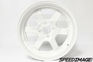 Rota Grid V White Wheels 16x8 20 4x100 67 Hub Integra Dc Civic Eg Ek