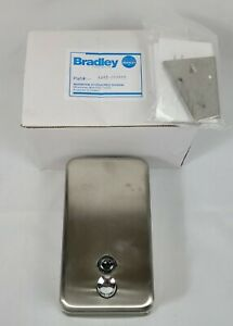 Bradley 6562 000000 Liquid Soap Dispenser Wall Mount Stainless Steel