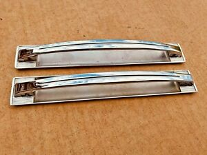 1960 Cadillac Door Panel Pull Handles Pole Straps Deville Coupe Convertible 60