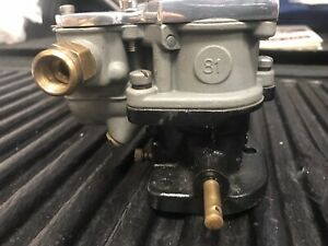 Rare Stromberg 81 Carburetor With Scott Type Top Hot Rod Rat Rod Flathead V8 60