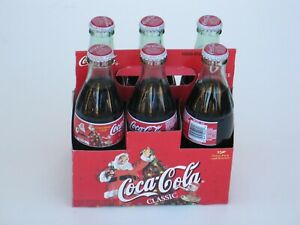 Vintage Coca Cola 6 pack Christmas 1998 sealed and new antique Christmas gift