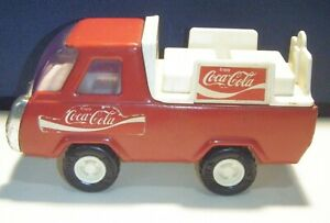 Vintage Buddy L Coca-Cola Truck Made In Japan.4 3/4