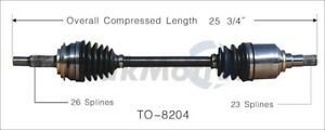 For Toyota Yaris 2006 2014 Front Driver Left Cv Axle Shaft Surtrack To 8204