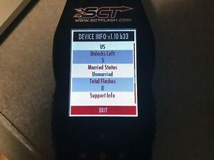 Sct X4 7015 Tuner Programmer Flash Ford Unmarried