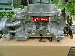 Edelbrock Carburetor 600 Electric Choke Edelbrock 1406 0303