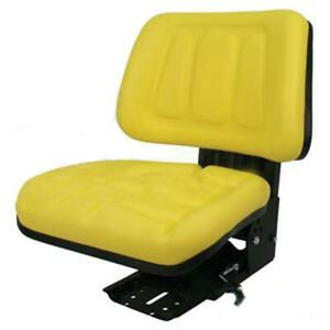 Yellow Tractor Suspension Seat For John Deere 5200 5210 5300 5310 5400 5410