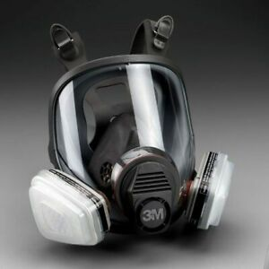 3m 7 In 1 6900 Full Face Reusable Respirator For Spraying Painting Large