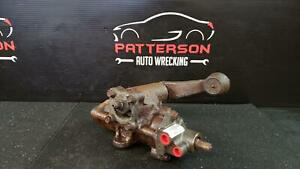 2000 Chevy Silverado 1500 Power Steering Gear Box Assembly 4x4 Id 88965789