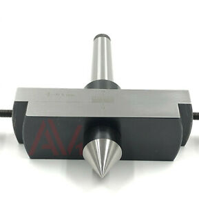 New Mt2 Lathe Tailstock Taper Turning Attachment 2mt For Metal Turning In Taper