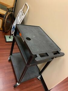 Plastic Utility Cart 2 Level Great Condition