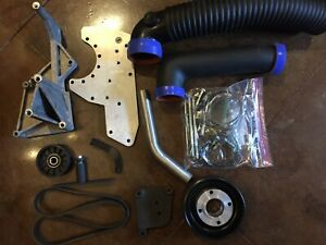 1986 1993 Mustang 5 0 Gt Lx Cobra Supercharger Mounting Kit Powerdyne Bd11a Xb1a