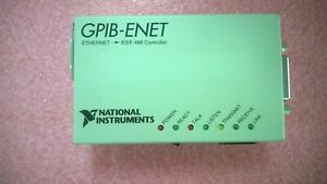 National Instruments Gpib enet Ethernet Gpib Controller 181950l 01