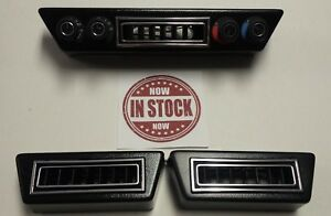 Gen 2 Vintage Air Rotary 4 knob Controller Under Dash Vents rectangle