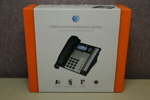 At t 4 line Small Business System 1040 1070 1080 Desk wall Corded Phone