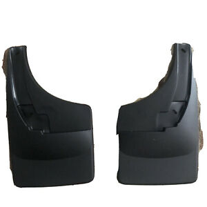 Weathertech No drill Mud Flaps For Dodge Ram Truck W o Ff 09 18 Rear Pair