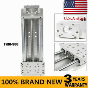 Cnc Slide Table 300mm Strokes Milling Linear Stage Ball Screw Sbr Guide
