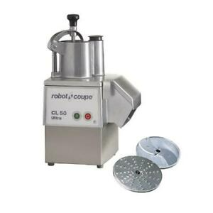 Robot Coupe Cl50e Ultra 1 5 Hp Commercial Food Processor W Continuous Feed