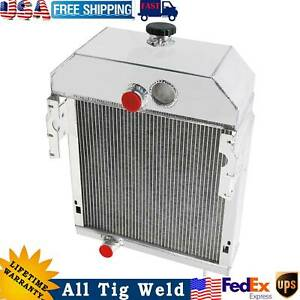 International Tractor 5 Row Radiator For Farmall 300 350 Part Number 361704r93