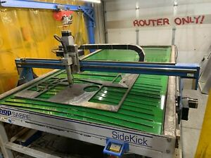 4 x8 Shop Sabre Sidekick 8 Cnc Plasma Table 2016 Hypertherm Powermax 125