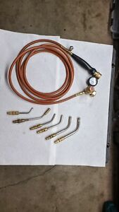 Harris Inferno Air Acetylene Turbo Torch Kit With 6 Torch Tips