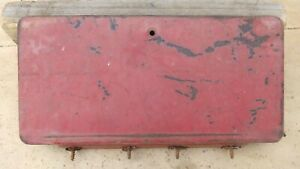 1948 1953 Dodge Truck Glove Box Door W Hinge Original Pickup Panel