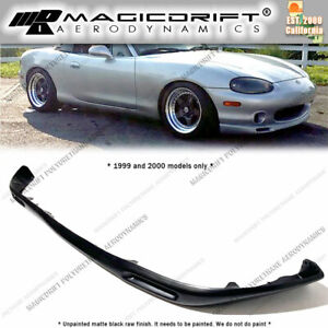 For 99 00 Mazda Miata Mx 5 Nb1 Factory Style Sport Package Front Bumper Chin Lip