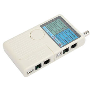 Remote Cable Wire Tester Detector Emote Cable Tester One Button Testing Multiple