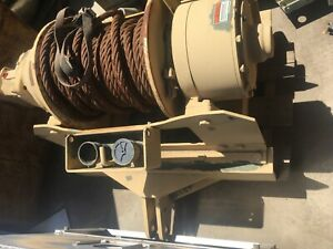 Dp Manufacturing Winch Military Model 53642 45 000 Lb