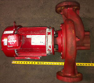 Bell Gossett In line Pump 7 5hp 230 460v 3ph 1760rpm See Pictures For Detais