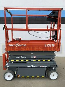 New 2020 Skyjack Sj3219 19 Ft Scissor Lift