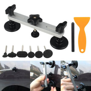New Car Paintless Dent Puller Slide Hammer Repair Tabs Removal Tool Pdr Hail Kit