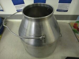 Large Stainless Steel Farm Milk Dairy Pail