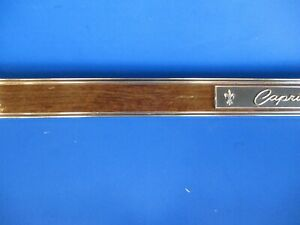 1968 Chevrolet Caprice Dash Plaque Name Plate B103