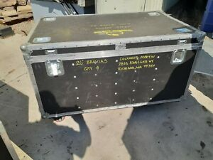 Rolling Large Wilson Hard Case Chest Shipping Case 51 X 31 X 25