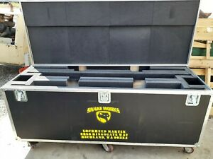 Rolling Large Wilson Hard Case Chest Shipping Case 76 3 8 X 29 1 4 X 29 1 4