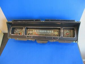 1968 Chevrolet Impala Tachometer Gauge Package 4speed Caprice Super Sport Belair