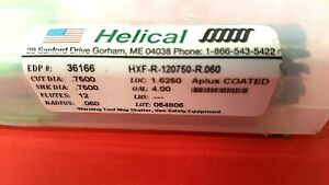 Helical Carbide End Mill 36166 3 4 x3 4 4 12 Flutes aplus Coated Usa new