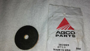 Hesston Agco 382069 Washer spacer 8550s Swather Rotary Hdr 8070