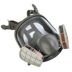 15 In1 6800 Full Face Mask Comfortable Respirator Painting Spraying Facepiece