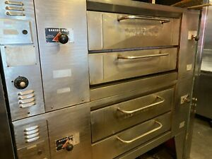 Baker Spride Ds805 Double Deck Pizza Oven