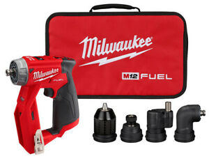 Milwaukee M12v Drill 3 8 Driver 4 in 1 Installation Brushless Fuel Kit 2505 20
