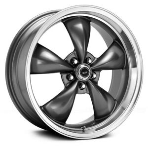 American Racing Ar105m Torq Thrust M 1pc Wheels 16x7 35 5x110 Rims Set Of 4