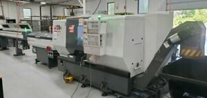 Haas St 20y Cnc Lathe 2018 Bar Feeder C axis Chip Conveyor