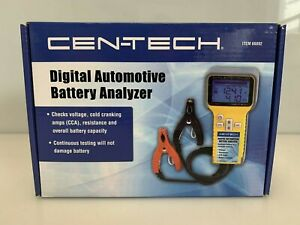 Cen Tech Digital Automotive Battery Analyzer Item 66892