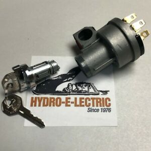 New 1955 1957 Chevrolet Corvette Ignition Lock Switch With Gm Keys