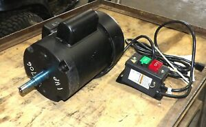 1 Hp Motor From Shop Fox W1706 14 Bandsaw With Switch Low 1725 Rpm
