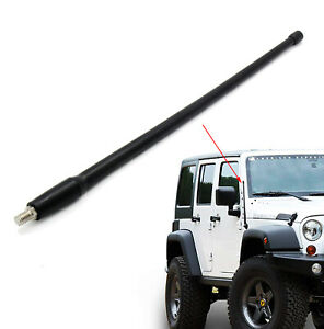 Fits 2003 07 Jeep Liberty Car Antenna Mast 13 Short Flexible Rubber Replacement
